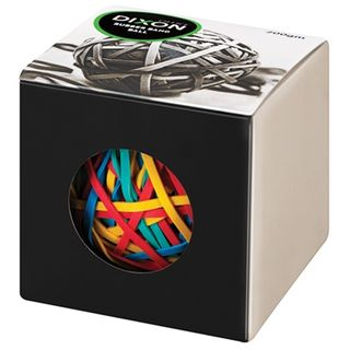 DIXON RUBBER BAND BALL 200GM ASSORTED