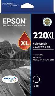 INKJET CARTRIDGE EPSON 220XL HY BLACK
