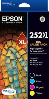 INKJET CARTRIDGE EPSON 252XL BLACK