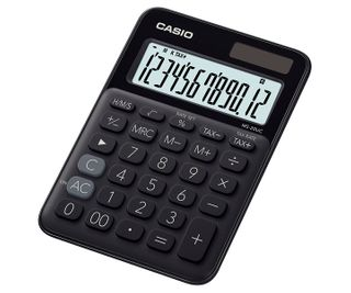 CALCULATOR CASIO MS20UCBK DESKTOP BLACK