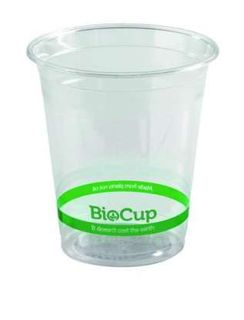 PLASTIC CUPS COLD BIOWARE 200ML BX/2000