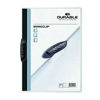 DURABLE SWINGCLIP FILE BLACK 30 SHEET