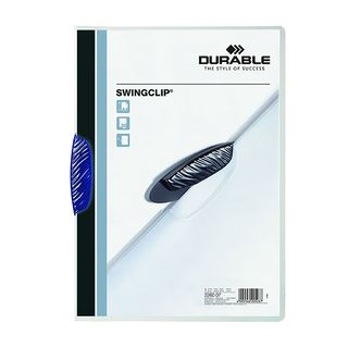 DURABLE SWINGCLIP FILE BLUE 30 SHEET