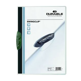 DURABLE SWINGCLIP FILE GREEN 30 SHEET