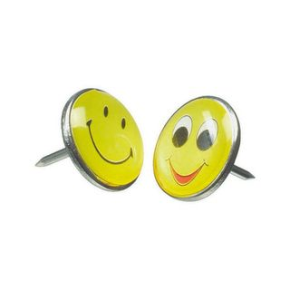 NOVELTY PUSH PIN ESSELTE EMOTICONS 1.0 1