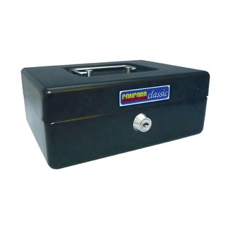 ESSELTE CASH BOX CLASSIC NO.8 BLACK