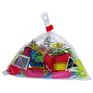 KEY TAGS KEVRON ASSORTED COLOURS EACH