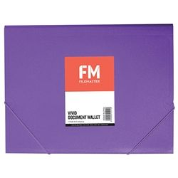 DOCUMENT WALLET FM VIVID PURPLE PASSION