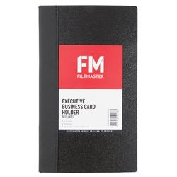 BUSINESS CARD FOLDER FM EXECUTIVE BLUE 6