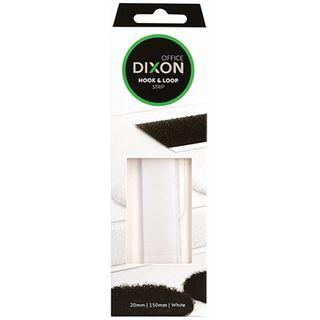 DIXON HOOK & LOOP150MM STRIP WHITE