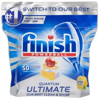 FINISH POWERBALL DISHWASHER TABLETS PK48