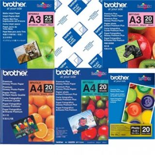 BROTHER PHOTO PAPER GLOSSY 6X4  PK/20