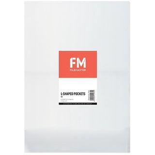 FM L-SHAPED POCKETS CLEAR A3 PKT/5