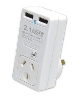 SANSAI SURGE PROTECTOR WITH USB CHARGING