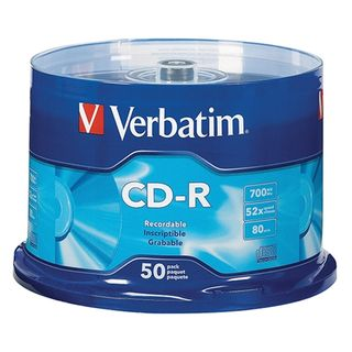 VERBATIM CD-R 700MB 52X SPINDLE 50