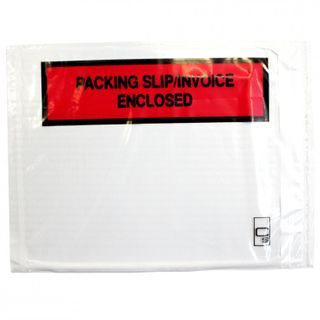 LABELOPES PACK/SLIP/ INVOICE ENCL PK100