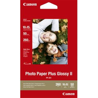 PAPER PHOTO GLOSSY II 4X6 PKT/20 CANON