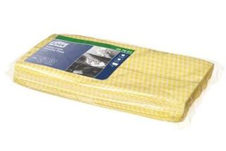CLEANING CLOTH TORK YELLOW 60X30CM PK25