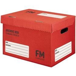 ARCHIVE BOX FM DOX NO.1 RED