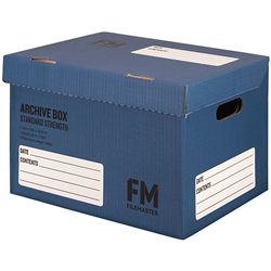 ARCHIVE BOX FM DOX NO.1 BLUE