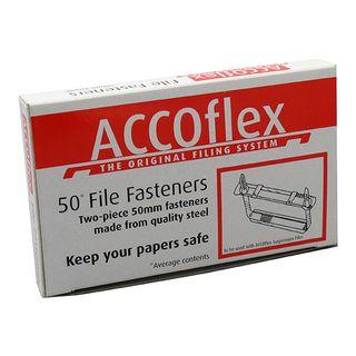 ACCO PAPER FASTENERS 2 PIECE 50MM BOX/50