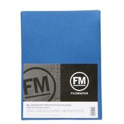 FM PRESENTATION FOLDER NAVY DOUBLE PK10