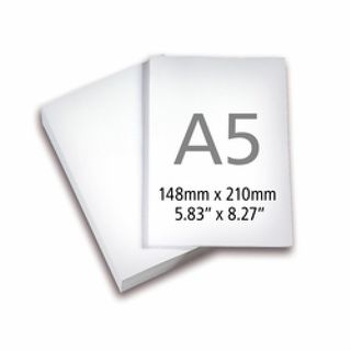 COPY PAPER BRILLIANT A5 80GSM WHITE