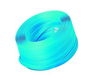 PLASTIC HAND STRAPPING TAPE BLUE 19MM X