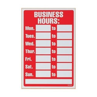 WORKPLACE/SAFETY SIGN PELIKAN BUSINESS H