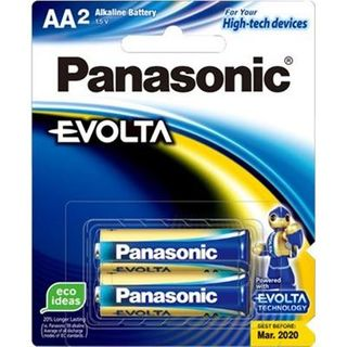 PANASONIC BATTERY EVOLTA AA PKT2