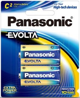 PANASONIC EVOLTA BATTERY C PKT/2