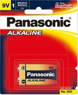PANASONIC BATTERY 9V ALKALINE