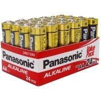 PANASONIC BATTERY AA ALKALINE 24 PK