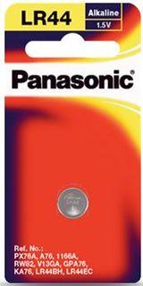 PANASONIC BATTERY LR44 ALKALINE 1.5V