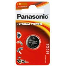 PANASONIC BATTERY CR2025 LITHIUM 3V