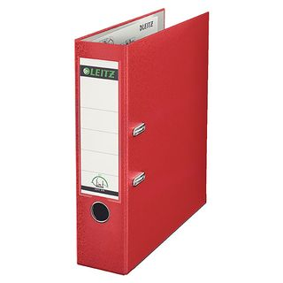 180 LEVER ARCH FILE RED A4 LEITZ