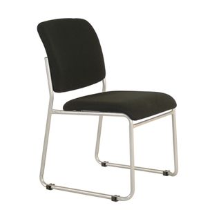 VISITOR CHAIR BURO MARIO BLACK