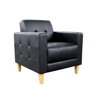 VISITOR CHAIR BURO DELTA BLACK