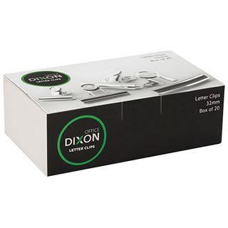 DIXON CHROME LETTER CLIP 32MM