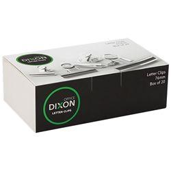 DIXON CHROME LETTER CLIP 76MM
