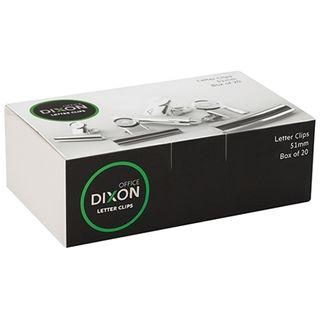 DIXON CHROME LETTER CLIP 51MM