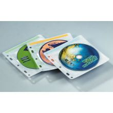 CD/DVD STORAGE SLEEVES PKT50 KENSINGTON