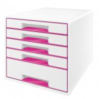 DOCUMENT CABINET LEITZ WOW CUBE 5 DRAWER
