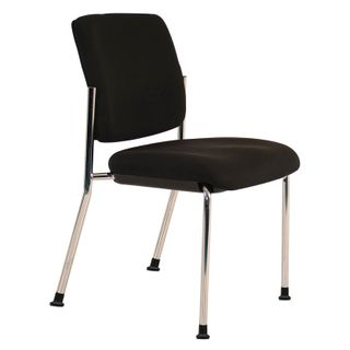 VISITOR CHAIR BURO LINDIS BLACK