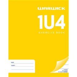 EXERCISE BOOK WARWICK 1U4 12MM RULED
