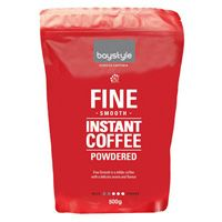 BAYSTYLE FINE INSTANT COFFEE 500GM