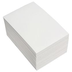 CROXLEY SCRIBBLER PAD WHITE 101X152MM
