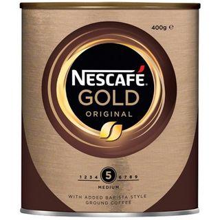 COFFEE NESCAFE GOLD ORIGINAL 400GM TIN