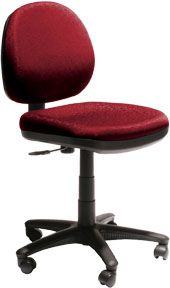 BURO IMAGE CHAIR RED NO ARMS