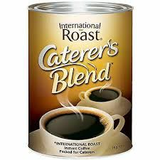 COFFEE INTERNATIONAL ROAST 1KG CATERERS